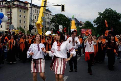 Вихід українок на карнавалі культур,  Берлін, 31.05.2009