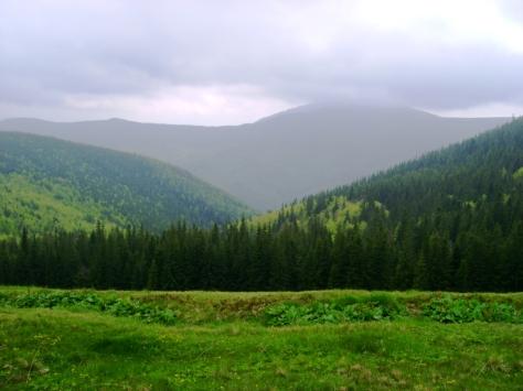 Туман на вершині. Автор: Артур Сіренко