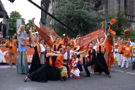 Заключний виступ перед жюрі карнавалу культур, 31.05.2009