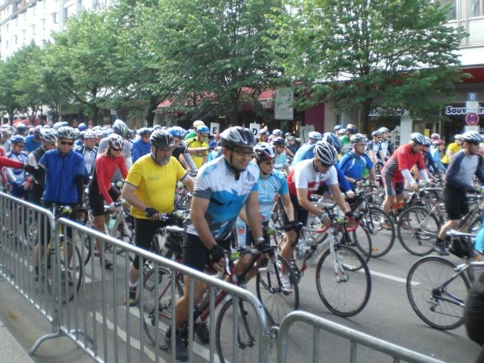 Олег Мірус на велотоні в Берліні, 21.06.2009