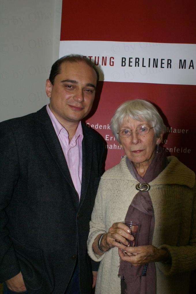 Базіл Керскі (Basil Kerski) та Лоре Дітцен (Lore Ditzen), Берлін, 2009