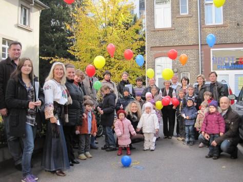 Відкриття суботньої школи в м. Гальдерберг, Німеччина