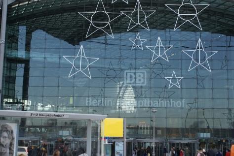Берлінський головний залізничний вокзал. Фото Ольга Самборська