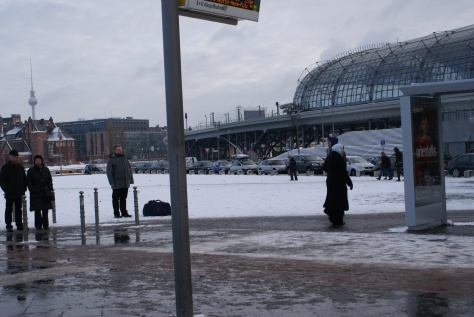 Хвіст берлінського вокзалу. Фото Ольга Самборська