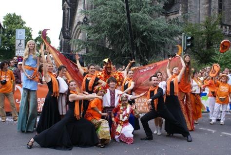 """""""В сім""""Ї вольній, новій"""", Берлін, Карнавал культур, 2009"""