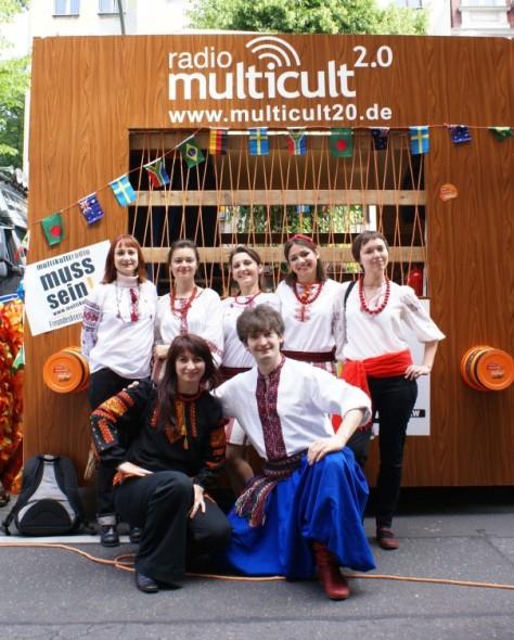 Українська група організаторів і учасників Карнавалу Культур, Берлін, травень, 2009