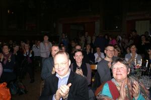 """Задоволена німецька публіка під час концерту """"Гудаків"""", Берлін, 21.03.2010"""