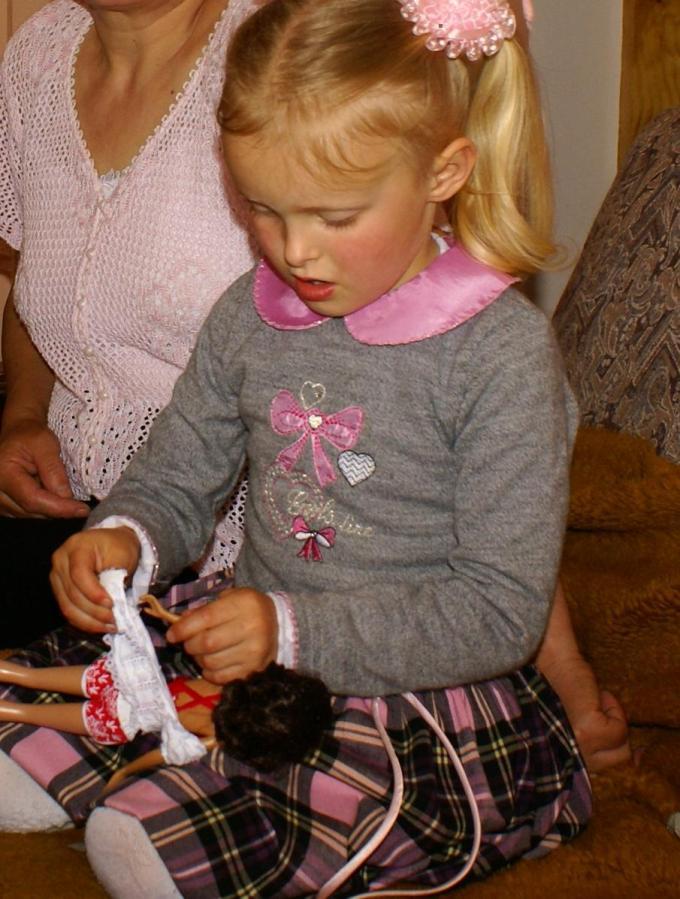 Іринці до вподоби прийшлася берлінська лялька