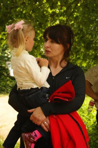 З Іринкою на руках, 30.06.2010, Україна, Устечко