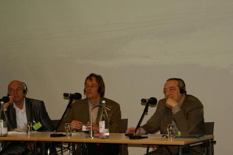 Анатолій Бергер (зліва) і Олександр Даніель (справа), Берлін, вересень 2010 року