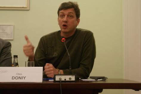 Олесь Доній, Берлін, 21.03.2011.