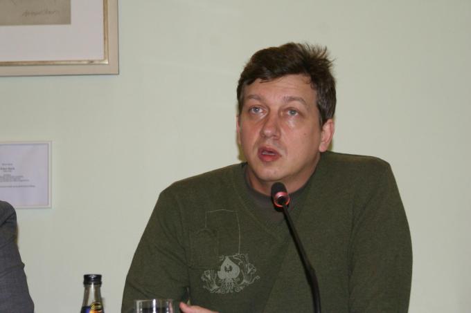 Олесь Доній, Берлін 21.03.2011. фото: Ольга Самборська