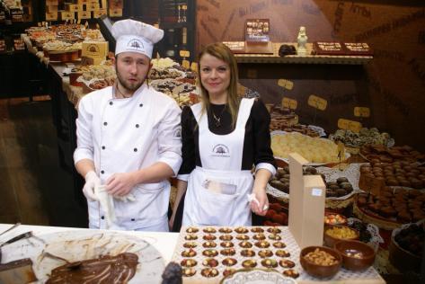 Львівські кондитери на ІТБ, Берлін 2011, Фото: Ольга Самборська