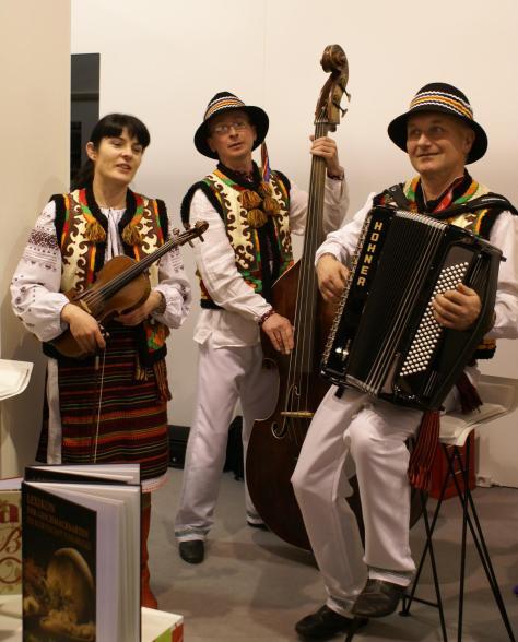 """Тріо """"Кременарос"""", Берлін 2011. Фото: Ольга Самборська"""