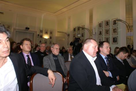 під час зустрічі з українськими політиками, Берлін, 21.03.2011