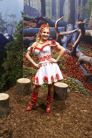"""Позувалося і в """"закарпатському лісі"""", Берлін 2011, ІТБ. Фото: Ольга Самборська"""