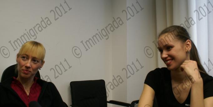 Юлія Камишна і Катерина Клименко