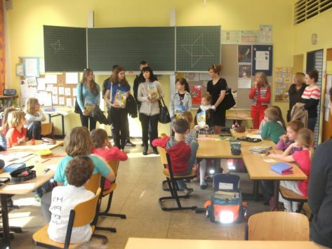 10 зустріч з школярами та викладачами школи Mönchegladbach