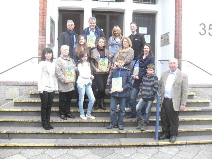 6 Дружнє розтавання членів делегації з громадськістю міста Хільден