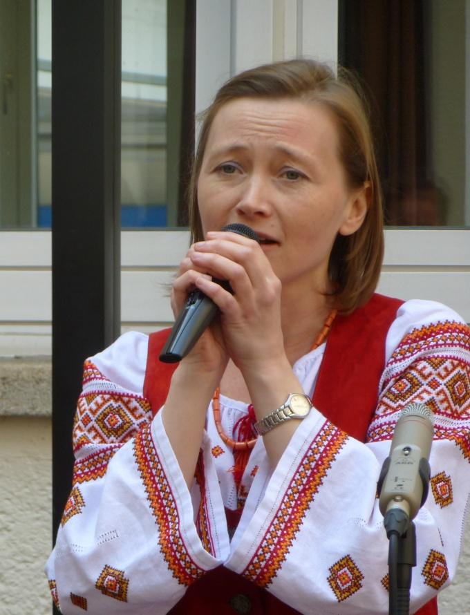 Українська народна пісня від Олени Серпень